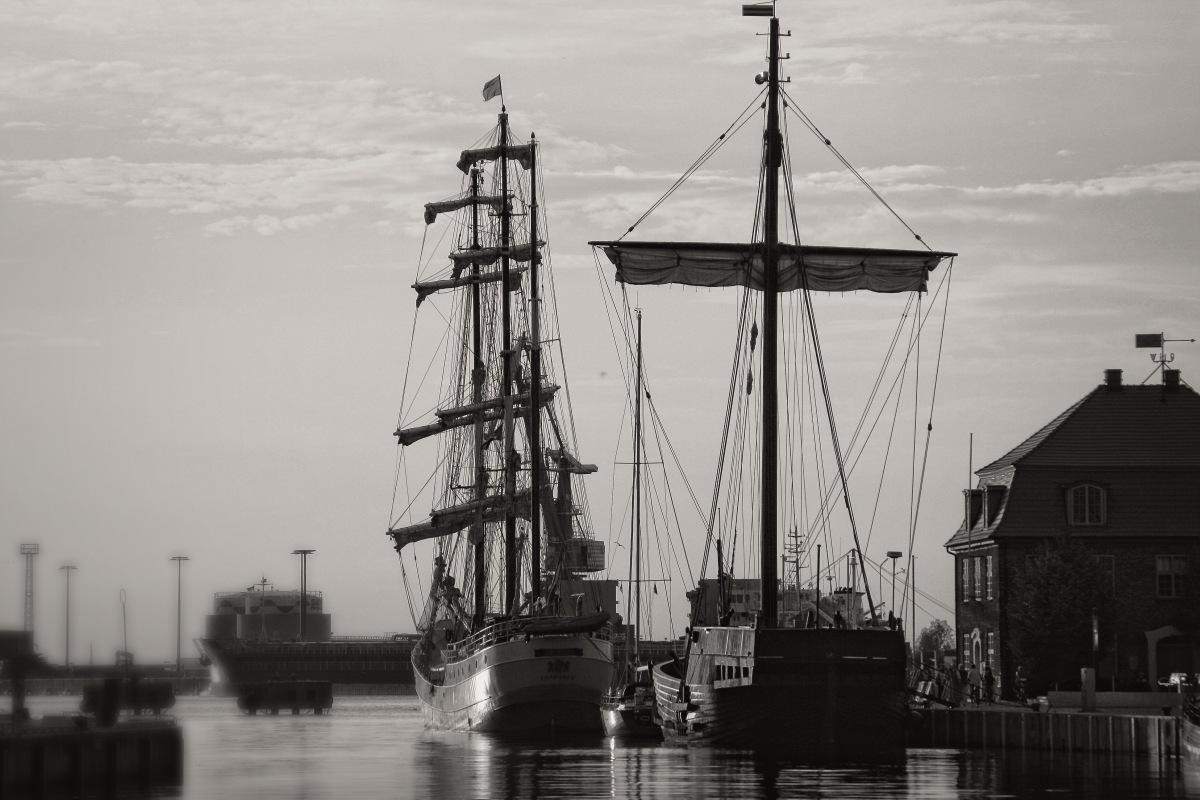 Im Hafen von Wismar / in the Wismar harbor