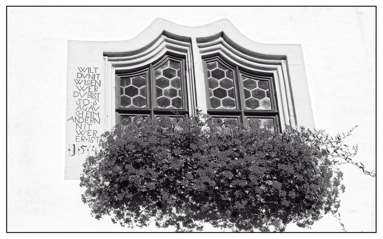 Rathausfenster