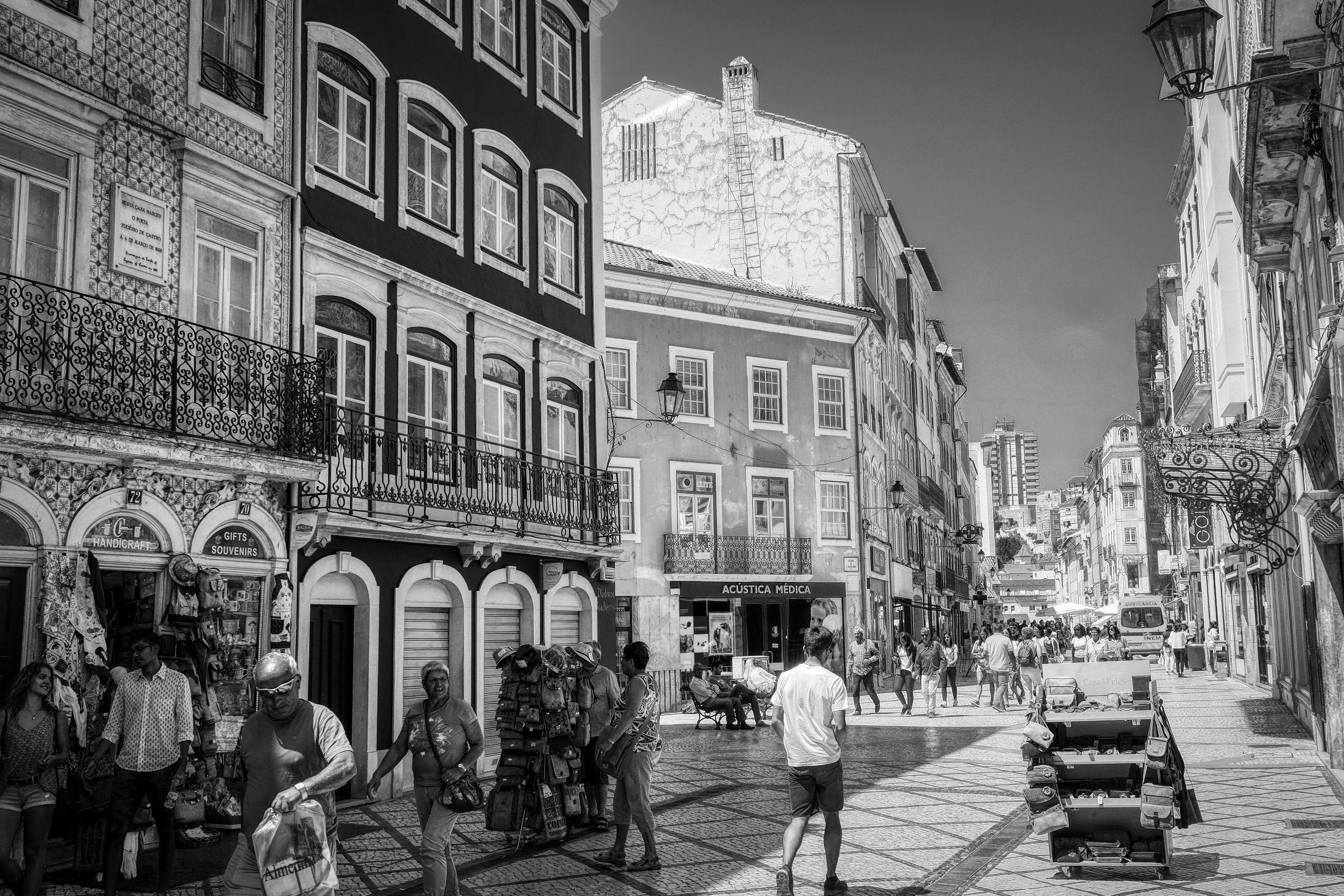 Duch Coimbra spazieren / strolling through Coimbra